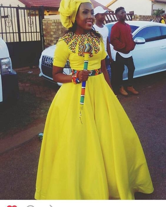 African Zulu Traditional Wear