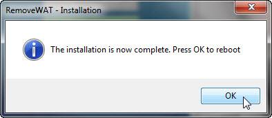 """วิธีแก้ไขเมื่อ Windows 7 เกิดอาการ """"จอดำ"""" RemoveWat008"""