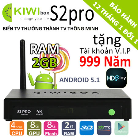 android tv box kiwi s2pro