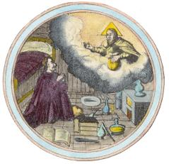 Emblem 2 From Barchusen Elementa Chemiae Leiden 1718, Alchemical And Hermetic Emblems 2