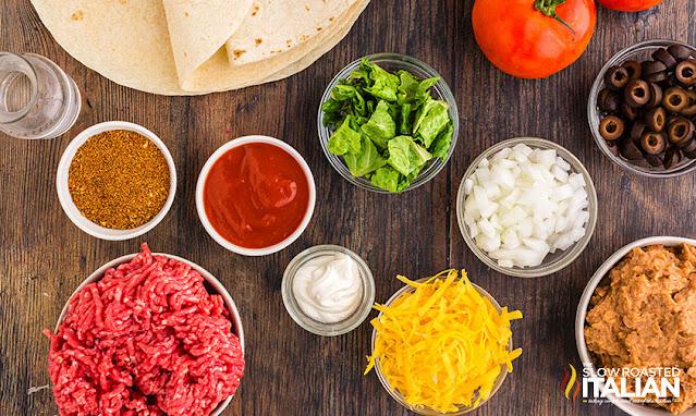 taco bell burrito supreme ingredients