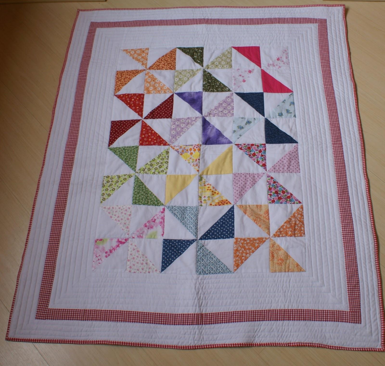 Arte de unir retalhos manta de beb patchwork com bloco - Como hacer mantas de patchwork ...