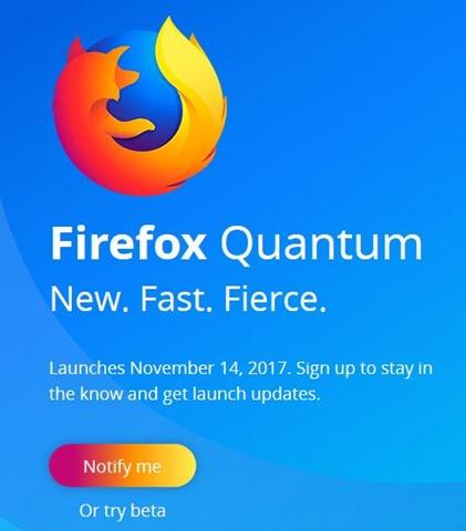 jadwal peluncuran firefox quantum