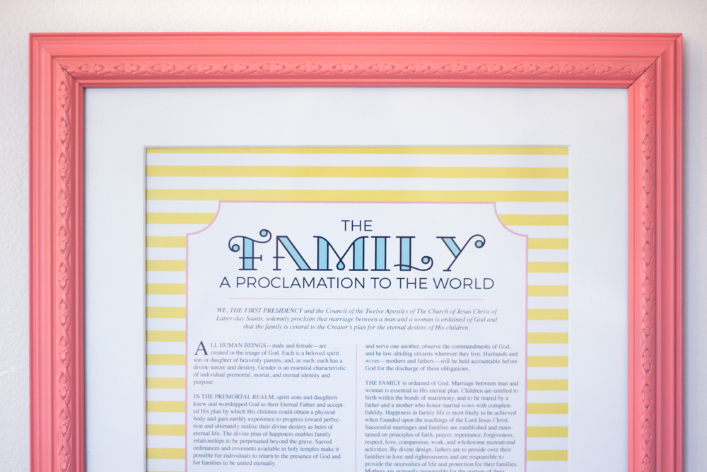 photo about The Family a Proclamation to the World Free Printable referred to as Absolutely free Loved ones Proclamation Printable Corinas Corner