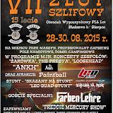 VII Zlot Szlifowy 28-30.08.2015
