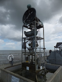 The water clock on Southwold Pier