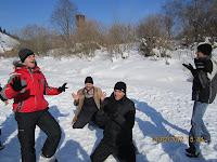 Фоторепортаж с тренинга по ньяса-йоге 12-18 февраля 2012г в Карпатах.716