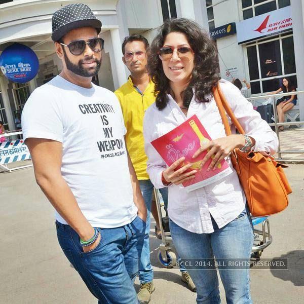 VJ turned actor Andy and Shivani Tanksale will shoot for Bobby Khan's upcoming flick Leela in Jodhpur.