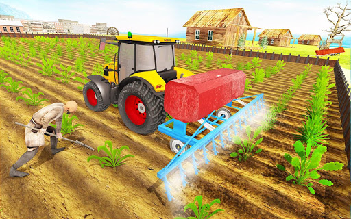 Modern Tractor Farming Simulator: Offline Games screenshots 19