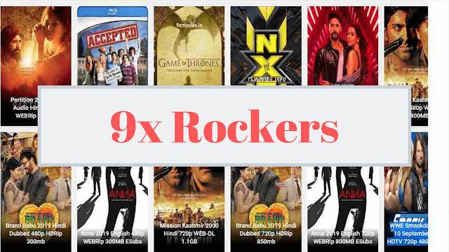 9xrockers 2021- illegal movies downloading website