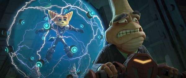 ratchet and drek in RATCHET AND CLANK movie