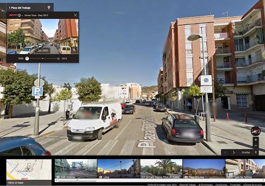 Fotos antiguas Google Street View