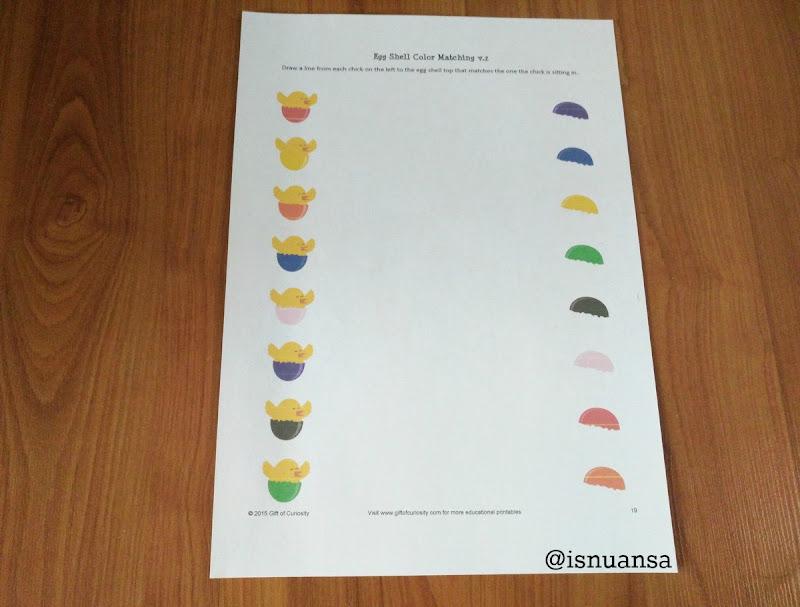 color matching free printable