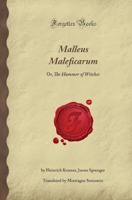 Cover of Heinrich Kramer's Book The Malleus Maleficarum Or The Witch Hammer