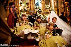 Foto 1421. Marcadores: 15/05/2010, Casamento Ana Rita e Sergio, Daminhas Pajens, Rio de Janeiro