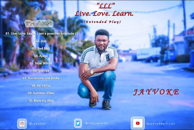 EP: Jayvoke – LLL (Live.Love.Learn)