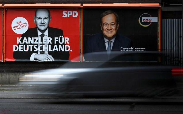 Γερμανία-εκλογές: Στη μία μονάδα η διαφορά του SPD από τη CDU/CSU