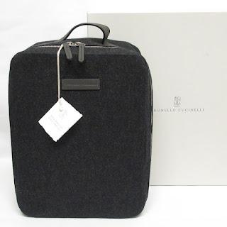 Brunello Cucinelli NEW Travel Bag