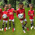 Adorable Photos Of Odion Ighalo's Children Pictured In The New Manchester United Jerseys