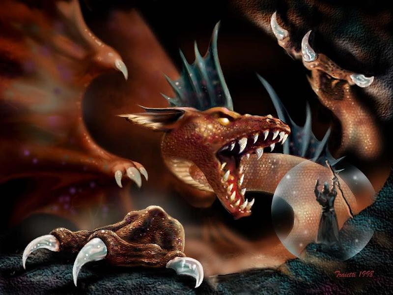 Awakening Dragon, Dragons