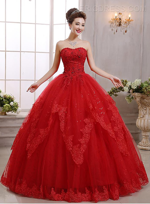 Red Wedding Dresses With Sleeves 42 Unique