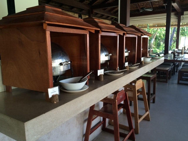 buffet style, at yaiya resorts, hua hin, thailand