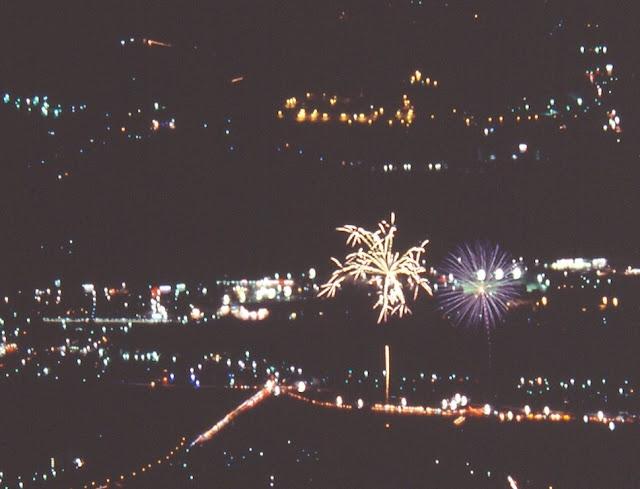 韮崎の花火 ベリート