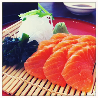 Ohnamiya Salmon Sashimi
