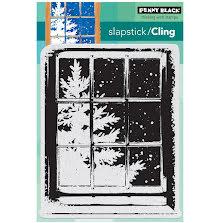 Penny Black Cling Stamps 5X7 - Frosty Day UTGÅENDE