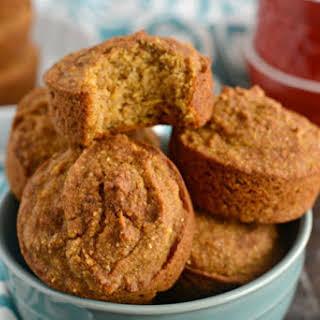 Pumpkin Cornbread Muffins.