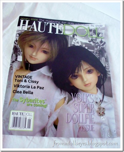 Bjd Lifestyle: Haute Doll Magazine, The Bjd Issue?