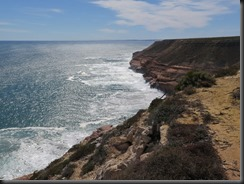 170506 043 Coastline Near Kalbarri