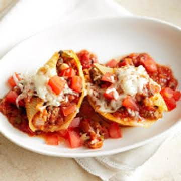 Diabetic Beefy Stuffed Shells