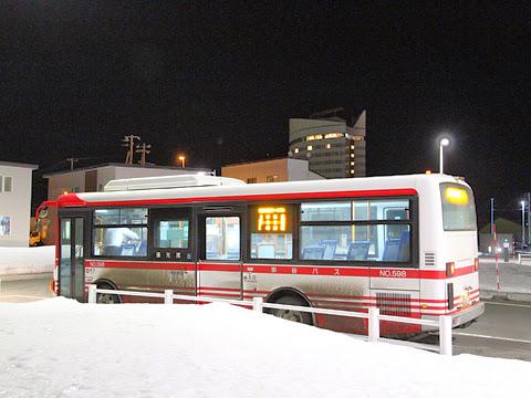 宗谷バス 天北宗谷岬線 ・745 稚内駅前ターミナルにて