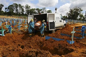 Mortes por covid-19 no Brasil passam de 300 mil