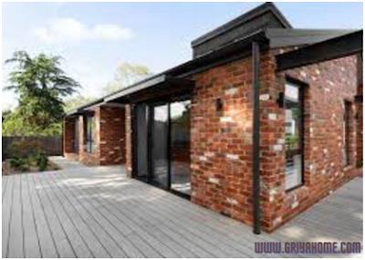 Desain rumah minimalis  batu bata