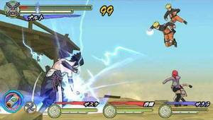 Naruto Shippuden: Ultimate Ninja Heroes 3 (US).iso psp Download !! screenshot 2