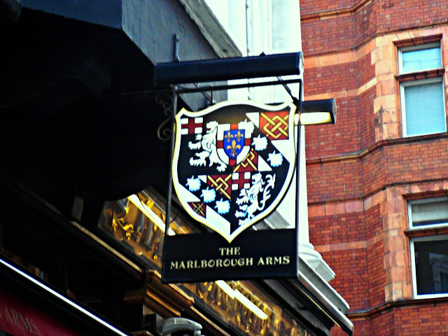 Marlborough Arms pub sign
