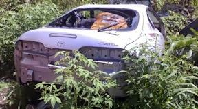 Abandoned Toyota Supra