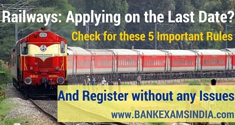 railways recruitment apply online