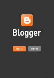 Blogger App Screenshots