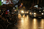 The lively night life in the Hanoi Old Quater