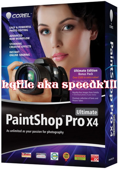 Corel PaintShop Pro X4 Multilanguage Retail-RESTORE