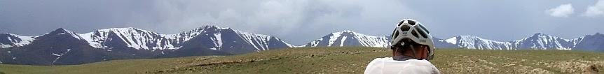 Kirgisisches Bergpanorama