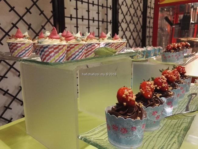 gambar cupcakes sedap di bufet ramadan
