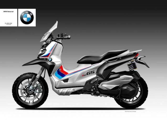 In 2021, we haven't quite reached the point where adventure scooters are the norm. The majority of scooters, even in the maxi-scooter class, aren't 750cc giants, despite the Honda X-ADV. Recently, Honda launched the ADV 150, Kymco introduced the DT X360, and Yamaha launched the tough-looking little BW'S. It is a micro-niche, but it is growing.     Additionally, we know that BMW has been working hard to bring its first electric scooter, the CE-04, to market. While one hand is in the present, the other is working on future vehicles, as is often the case with major OEMs. Motorrad has not yet announced any plans to discontinue the C 400 X piston-powered scooter, which is currently on sale.      Among our favorite moto designers, Oberdan Bezzi, has come up with his interpretation of a possible 2020 C 400 GS. Basically, that's right in line with when other OEMs released their adventure scoots.     If BMW were to actually consider offering a GS-styled C 400 scooter, then 2021 could have been the best year to do so. BMW has been celebrating the 40th anniversary of the GS series all year long, with 40th anniversary liveries on all of its current-model-year offerings.      As a styling exercise, it's pretty good. Our soft spot goes out to that BMW tricolor, but the regular C 400 X has some pretty important features that we wish more piston-powered, comparable maxi-scooters had. A commuter-oriented vehicle should have decent brakes and a zippy throttle response, don't you think? The ADV styling and GS-styled variant seem like a no-brainer.     While the scooter's off-roading capabilities are at best limited, we could talk all day about style vs. substance when it comes to ADV motorcycles. Therefore, it is not surprising that the same argument could apply to maxi-scooters.      It's inevitable that there will be people who want to spend more time off-road than on, and others who like the styling of the ADV but prefer to keep out of the dirt as much as possible. What do you thin