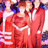 WWW.ENTSIMAGES.COM -    Tom Chambers and Wendi Peters   at      Fenwick of Bond Street Mark the official start of Christmas on Bond StreetFenwick reopens its famous Bond Street corner balcony for the first time since WWII ended in 1945, for a special performance of the title song by the iconic Aled Jones. The entire cast of Irving Berlin's White Christmas The Musical, which also stars Tom Chambers, Wendi Peters and Graham Cole will support, under a blanket of virtual snow.                                                 Photo Mobis Photos/OIC 0203 174 1069