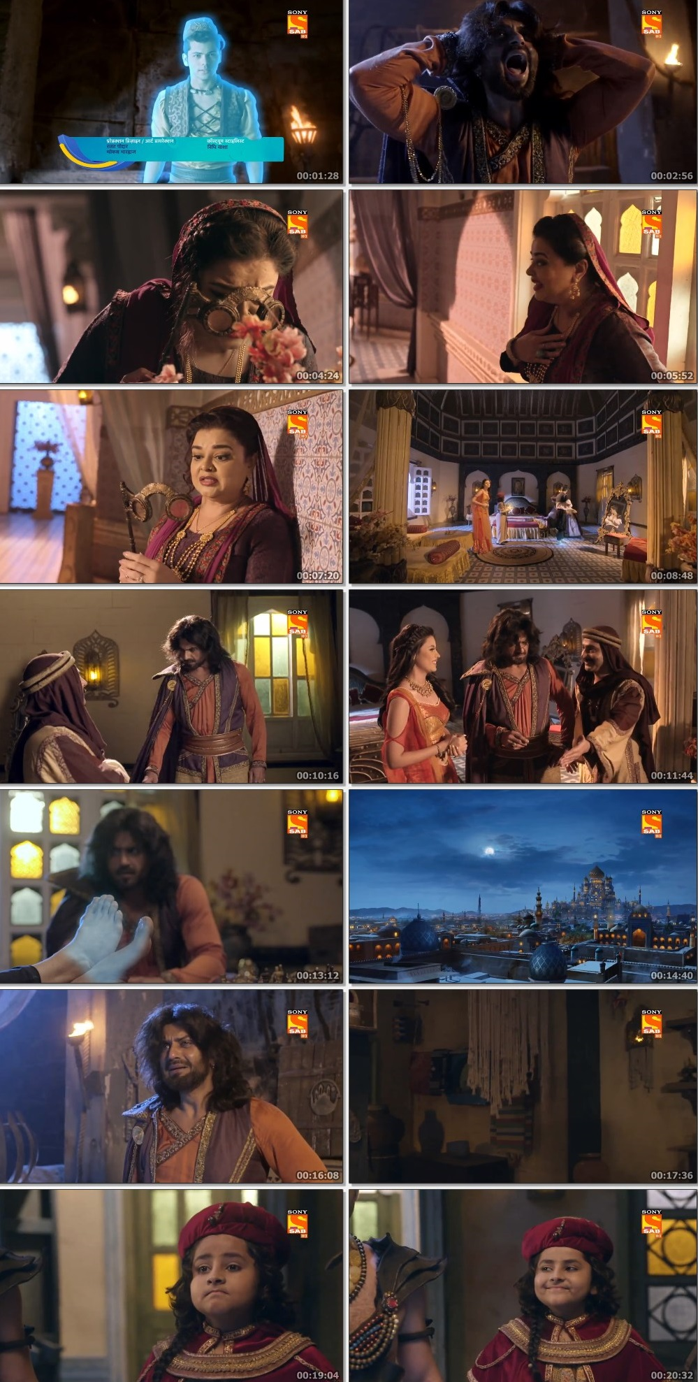 Screenshots Of Hindi Show Aladdin – Naam Toh Suna Hoga 2019 Episode 291 300MB 720P HD