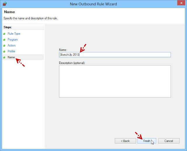 การบล็อกโปรแกรมไม่ให้เชื่อมต่ออินเตอร์เนตด้วย Windows Firewall Fwblockcon08