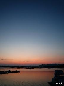 2009/8/27の夕闇です。キレイな夕闇でした。